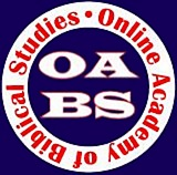 Online Academy of Biblical Studies Logo - Online Bible School